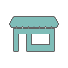 Icon of shop front
