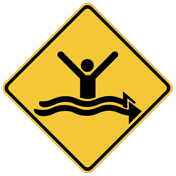 Beach safety sign_Currents