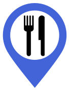 G'day Friends Category icon for places to eat