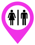G'day Friends Category icon for toilets