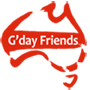 G'day Friends Logo